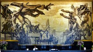 Diego Rivera Rockefeller Center Mural Controversy by Architectural Tiles Glass And Ornamentation In New York May 2015