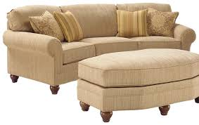 Appealing Curved Sectional Sofa For Furniture In Your Home Design Beige With