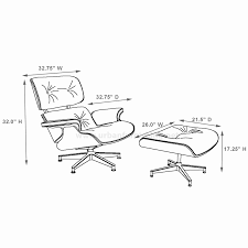 Eames Chair Dimensions Eames Style Lounge Chair And Ottoman 100 ... Eames Lounge Chair And Ottoman New Dimeions By Charles Ray Haus Herman Miller Drawings Dimeionsguide Style 100 Molded Plywood Armchair Vitra Avocado Green Leather 1967 White Polished Walnut Classic Xl Santos Palisander Brandy Black Eames Lounge Ottoman Retro Obsessions