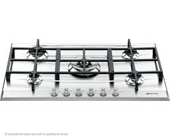Smeg P1752X Linea Gas Hob in Stainless Steel eve