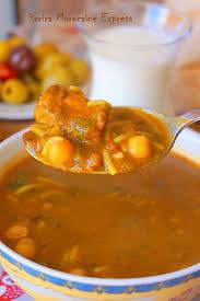 cuisine marocaine harira harira marocaine express soupe ramadan aux delices du palais