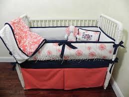 custom baby bedding set harper crib bedding coral baby