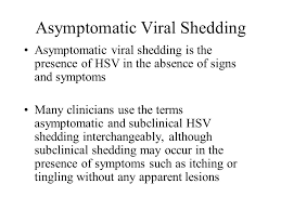 Asymptomatic Viral Shedding Influenza by New Developments In The Management Of Herpes Elaine