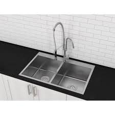 Stainless Overmount Farmhouse Sink by Kitchen Marvelous Top Mount Farm Sink Kitchen Sinks Online