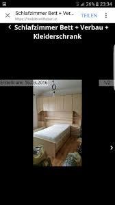 schlafzimmer bett vorbau kleiderschrank