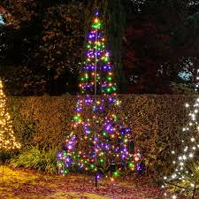 Flagpole Christmas Tree by Outdoor Christmas Trees Buy Now From Festive Lights
