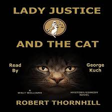 Lady Justice And The Cat Audiobook Cover Art