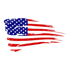 Distressed American Flag Svg US Decor Patriotic 4th Of July Stars And Stripes Rustic Cut File