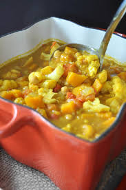 Spicy Pumpkin Butternut Squash Soup by Curried Pumpkin U0026 Butternut Squash Stew Veganosity