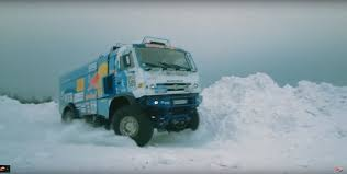 Kamaz Truck Goes To Northern Russia For An Epic Snow Jump ...