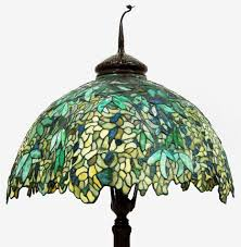 Tiffany Style Lamps Canada by 7523 Antique Tiffany Laburnum Floor Lamp From Antiquariantraders