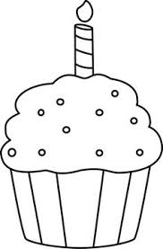 Muffin mix box clipart black and white