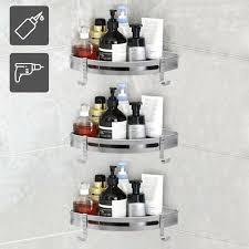 2 mode duschregal badregal eckregal duschablage duschkorb