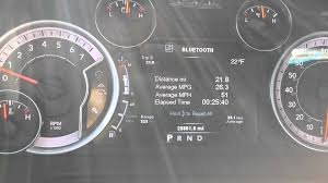 Dodge Ram 1500 5.7 Hemi Fuel Economy - YouTube