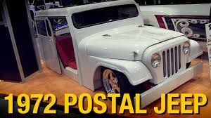 Custom '72 Postal Jeep Truck - Stone Cold Customs SEMA 2014 ... Junkyard Find 1972 Am General Dj5b Mail Jeep The Truth About Cars Usps Long Life Vehicles Last 25 Years But Age Shows Now Used Truck Fedex For Sale Right Hand Drive Trucks For Rightdrive 1983 Amg Dj5l Dj5 Post Office Cj Greatest 24 Hours Of Lemons All Time Roadkill Vans Van Lwbs Swbs Minibus Double Cab Pickup Truck 77 Us Mail Postal Amc Rhd Nice Rmd For Sale Youtube 2010 60 Citroen Relay Beaver Tail Alinium Recovery