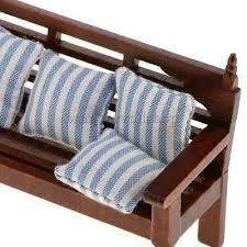 1 12 puppenhausmöbel wohnzimmer mini holz lange stuhl