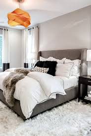 Bedroom Colors Decor Custom Cce Grey And White Modern Cozy