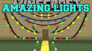 Minecraft AMAZING LIGHTS MOD GET DECORATING Mod Showcase