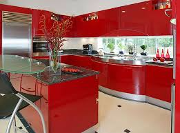 Remarkable Red Kitchen Ideas Alluring Remodel With Decorations For Kitchens Home Decor Interior