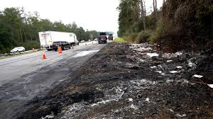 100 Semi Truck Accident On I 75 Driver In Fiery Crash Had Gotten Multiple Tickets Over The Years
