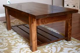 Coffee Table Wood Plans