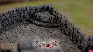 3d Printed Dungeon Tiles by Rampage Dungeon Tiles Basic Set By Printablescenery Thingiverse