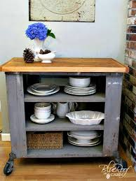 DIY Industrial Kitchen Island Or Cart Whatever