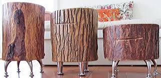 7 diy tree stump creative ideas