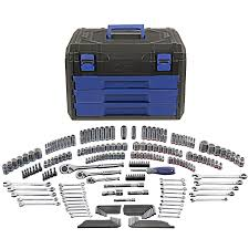 Kobalt 227-Piece Standard & Metric Mechanic's Tool Set W/ Hard ... Kobalt Tool Box Set Truck Lock Replacement Bookstogous Moto Tool Box For The Garage And Track Tech Helprace Shop Public Surplus Auction 1082956 What You Need To Know About Husky Boxes Side Mount Red Series Aw Direct Write A Chrome Boxeshighway Products F750 Bed Best Pictures Ford F150 Forum Community Of Fans Accsories Carid