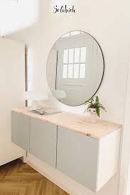 6 praktische ikea hacks für den flur in 2020 badezimmer