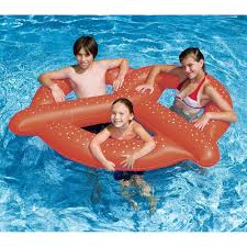 Inflatable Tubes For Toddlers by Swimline Giant Pretzel Fun Inflatable For Swimming Pools Walmart Com