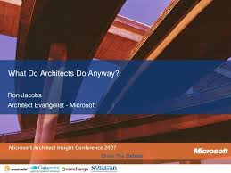 100 Jacobs Architects PPT What Do Do Anyway PowerPoint Presentation