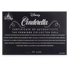 Princess Cinderella Musical Portrait Doll Ashton Drake Disney