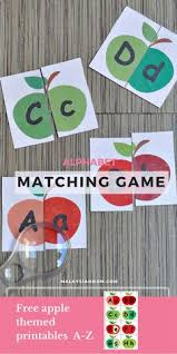 A Cute Matching Game So Students Can Recognize The Difference Between Upper Case And Lower Letters This Aligns With Th
