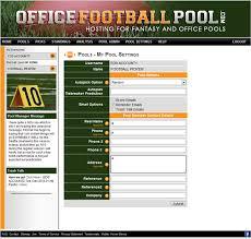 fice Football Pool Example