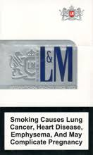 L&AMP M SUPER LIGHTS SILVER LABEL for $25 80 per carton by KiwiCigs