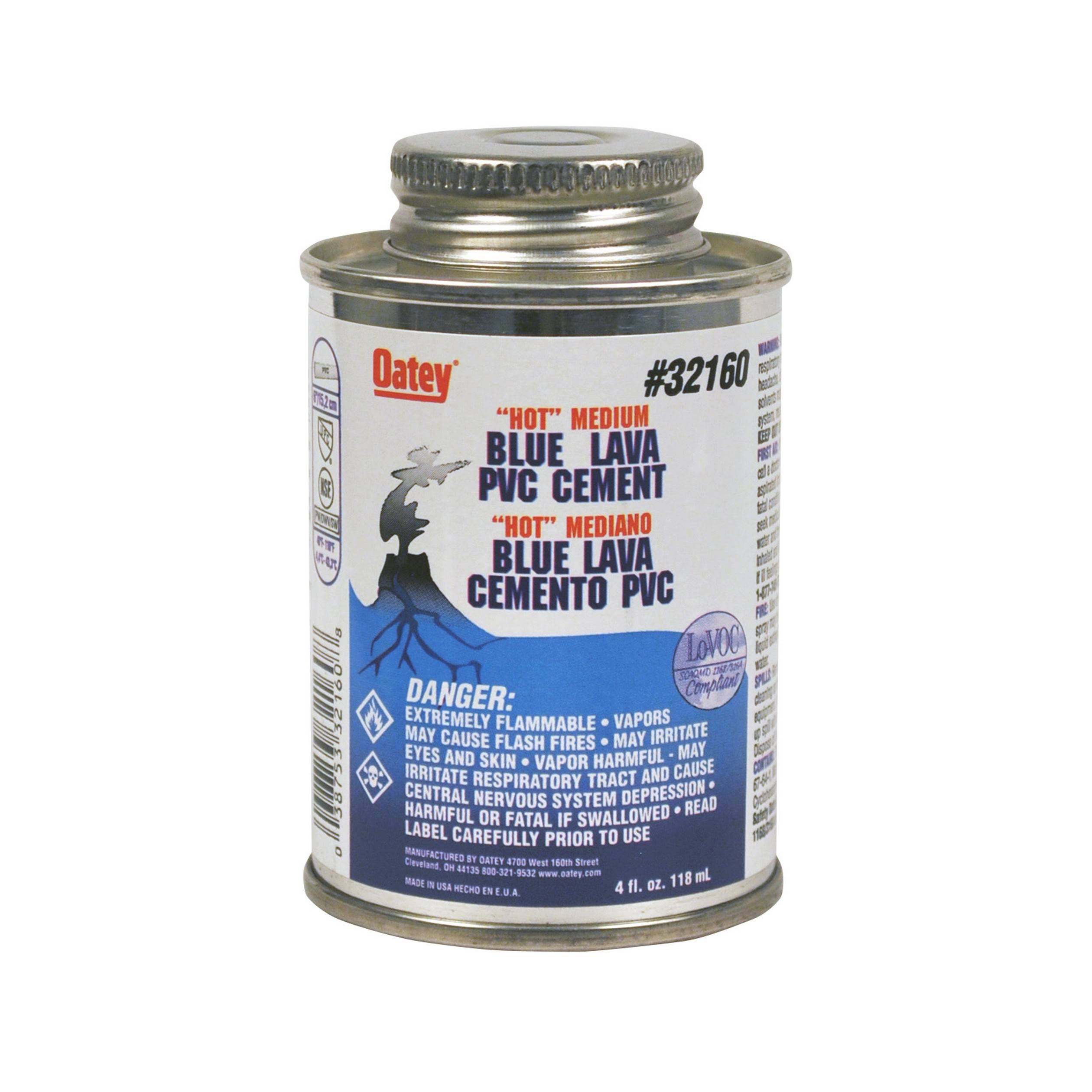 Oatey Flexible PVC Solvent Cement - Clear, 120ml