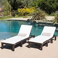 Amazon Prime Patio Chair Cushions by Amazon Com Set Of 2 Estrella Outdoor Pe Wicker Adjustable