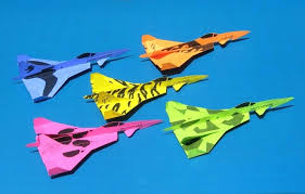 Best Paper Airplane Design Steps Origami Jet To Make