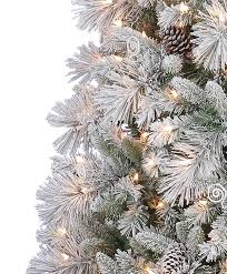 Pre Lit Flocked Artificial Christmas Trees by Flocked Spruce Christmas Tree Vickerman Flocked Alberta Pre Lit