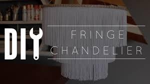 Foil Fringe Curtain Dollar Tree by Diy Chandelier Fringe Youtube