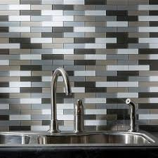 aspect 12 5 x 4 peel and stick glass matted subway backsplash