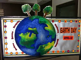 Art Craft Ideas And Bulletin Boards For Elementary Schools Earth Day Board