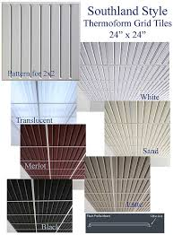 Drop Ceiling Tiles 2x4 White by Change The Look Of Your Drop Ceiling With Ceiling Tile Skins From
