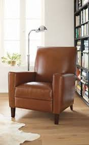 Pottery Barn Irving Chair Recliner by Irving Leather Swivel Armchair Pottery Barn Seating