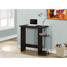 monarch specialties corner desk dark taupe desks hollow core left