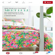 Lily Pulitzer Bedding by Lilly Pulitzer Duvet Covers U0026 Sets Mercari Buy U0026 Sell Things