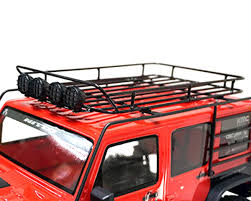 Yeah Racing Metal Roll Cage W/Roof Rack & LED Light (2017 Wrangler ... Diy Fj Cruiser Roof Rack Axe Shovel And Tool Mount Climbing Tent Camper Shell For Camper Shell Nissan Truck Racks Near Me Are Cap Roof Rack Except I Want 4 Sides Lights They Need To Sit Oval Steel Racks 19992016 F12f350 Fab Fours 60 Rr60 Bakkie Galvanized Lifetime Guarantee Thule Podium Kit3113 Base For Fiberglass By Trucks Lifted Diagrams Get Free Image About Defender Gadgets D Sris Systems Mounts With Light Bar Curt Car Extender
