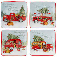 100 Fire Truck Plates Certified International Home For Christmas Multicolor Canape Plate