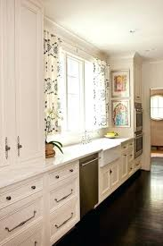 Full Image For Black And White Kitchen Window Curtains Curtain Set